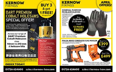 April Offer Leaflet
