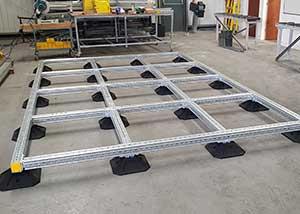 Rooftop Modular Frame