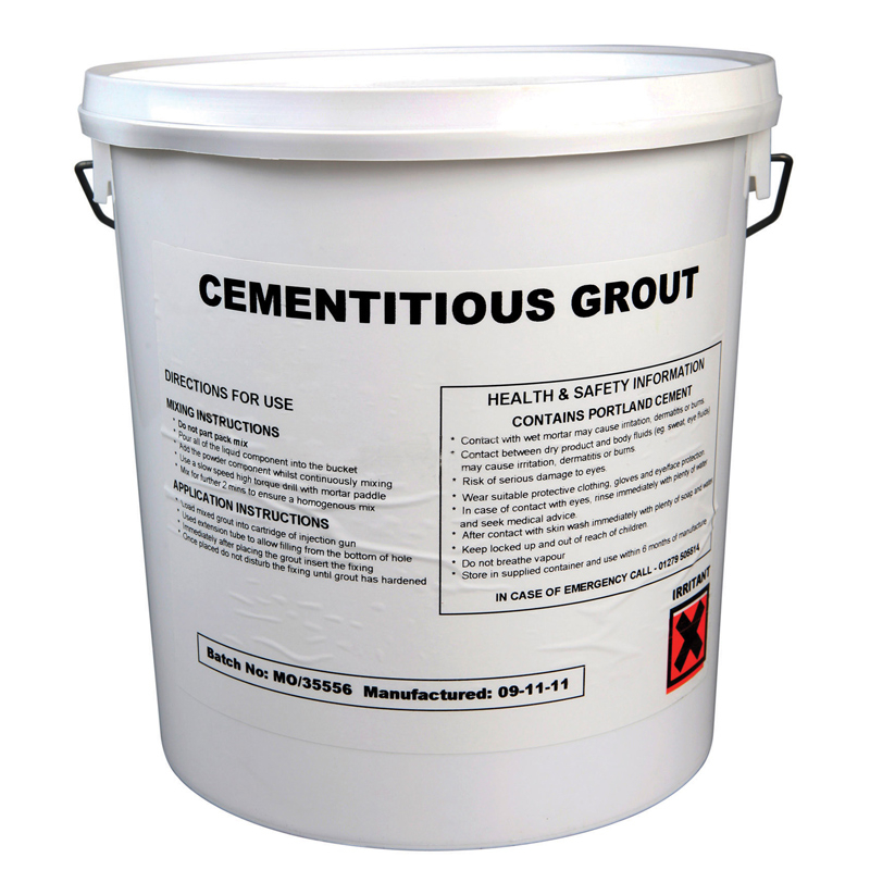 3ltr Cementitious Grout Masonry Repair Helical Fixing