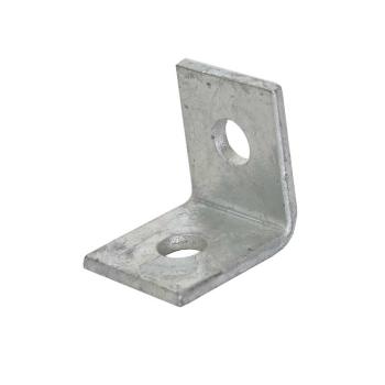 2 Hole 90Deg Channel Bracket HDG 50x47mm - P1026 FB111