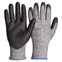 Seamless Knitted Gloves (L) CUT 5