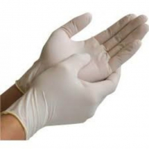 Vinyl Disposable Gloves - L Large - Box of 100