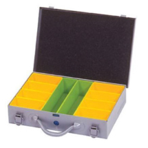 Small Empty Storage Case 10x63mm Deep Compartments