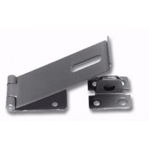 150mm No. HS617 Black Hasp Safety Hasp and Staple Black