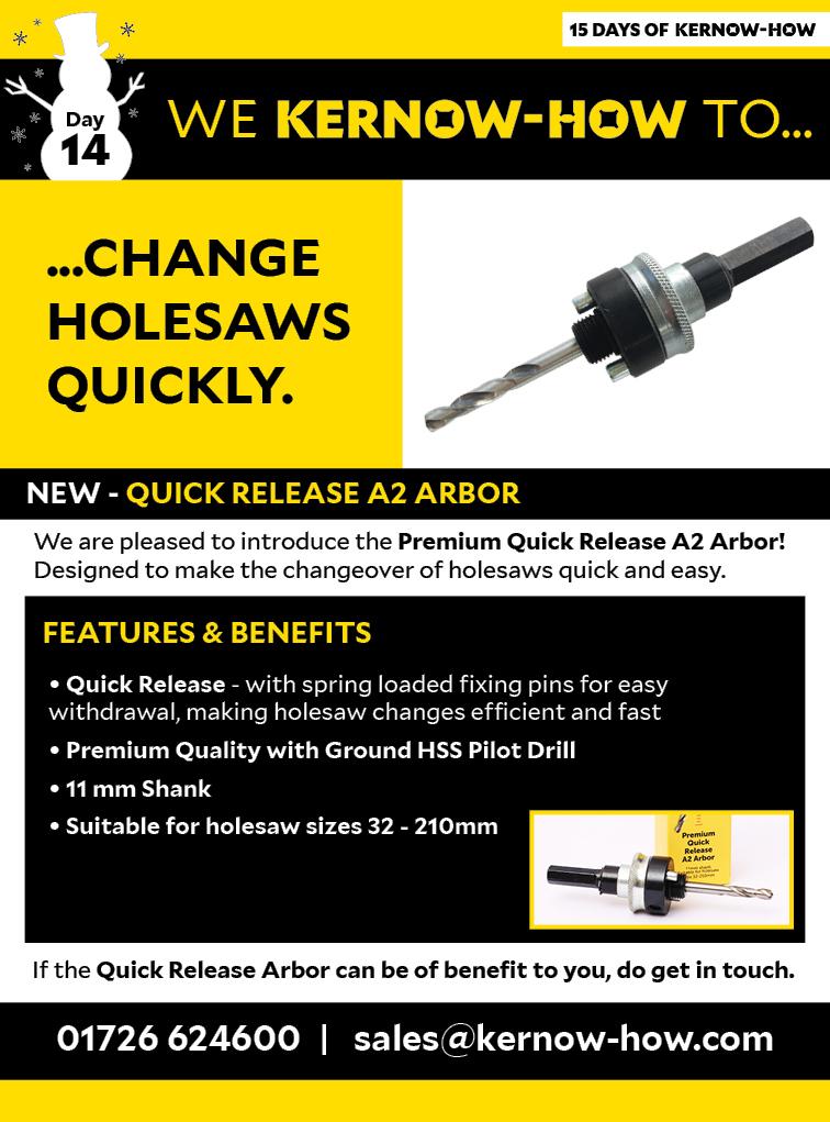 Premium Quick Release A2 Arbor