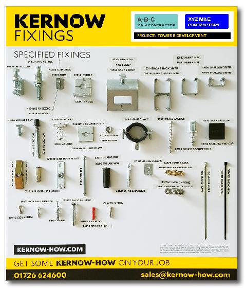 Kernow Fixings Board