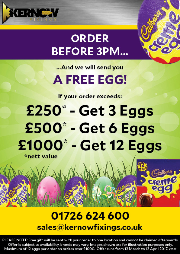 Eggcellent Easter Egg Offer