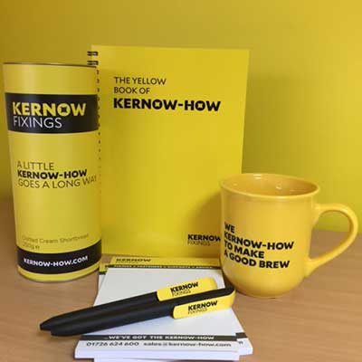 Kernow-How Biscuits, Notebook, Pads, Pens & Mug