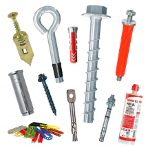 Hammer-In Fixings & Anchors