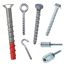 Multi-Fix Screwbolt Anchors