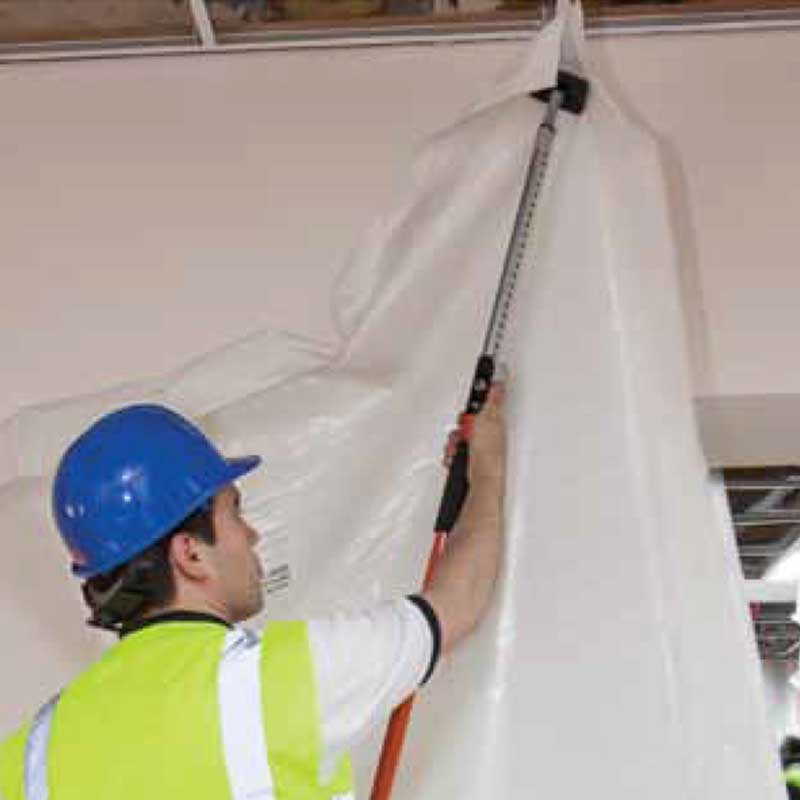 Polythene Sheeting for Dust Walling