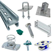 Channel Angle Fitting 90 Deg Bracketry - Hot Dipped Galvanised