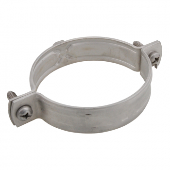 Stainless Steel Unlined Pipe Clamps
