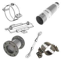 Pipe Anchor Brackets - Adjustable