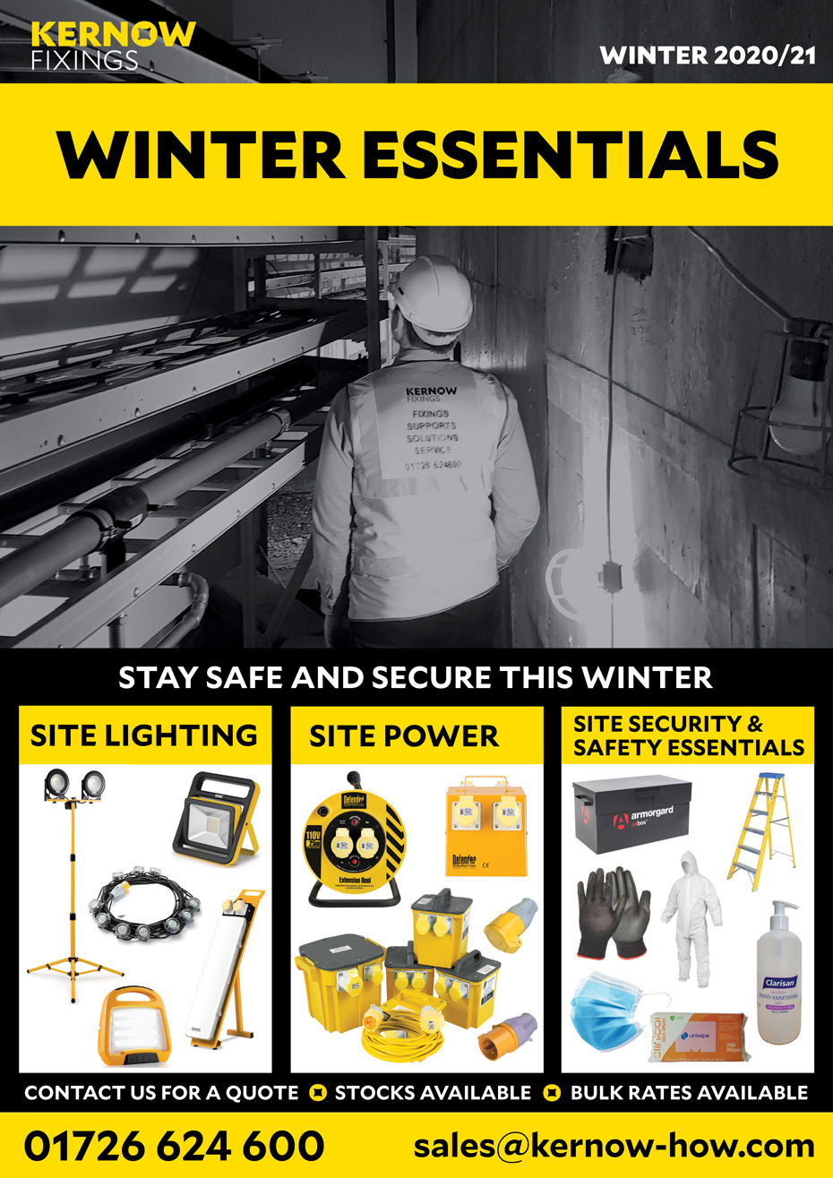 Winter Site Lighting & Power Essentials 2020-21