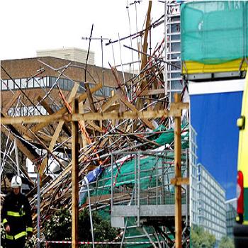 Scaffolding Collapse Anchor Fail