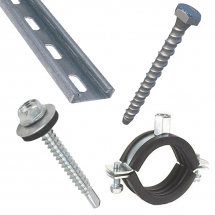 Stainless Steel Cable Tie Mounts 4mm Hole